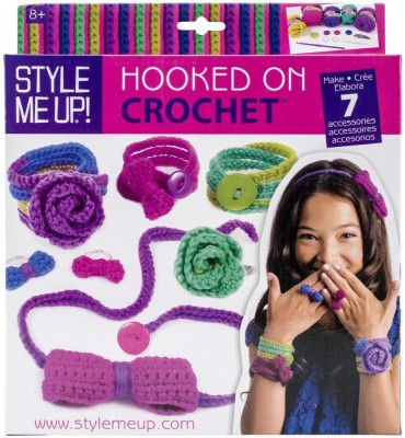Style Me Up Hooked On Crochet Multi Color