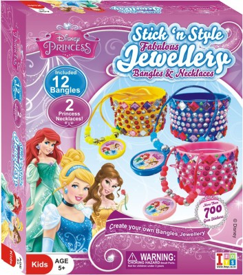 Disney Princess Stick n Style Fabulous Jewellery Bangles & Necklaces