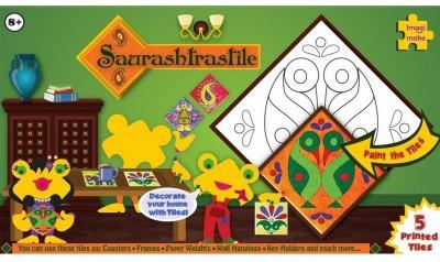 Imagimake Sauratrastile Folk Art from Gujarat