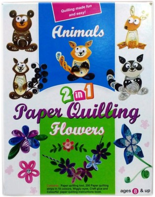 scrazy 2 in 1 Paper Quilling Flowers