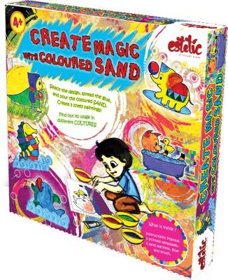 Estetic Create Magic With Coloured Sand