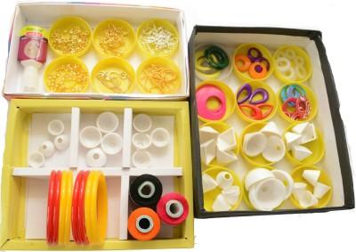 udhayam Silk Thread Jewellery Making Mega Kit Two