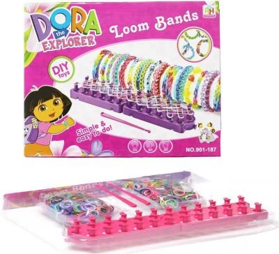 WebKreature Dora Loom Bands (As per availability design may vary)- 901 187