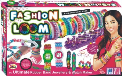 Ekta Toys Fashion Loom Bands Wrist Watch Maker