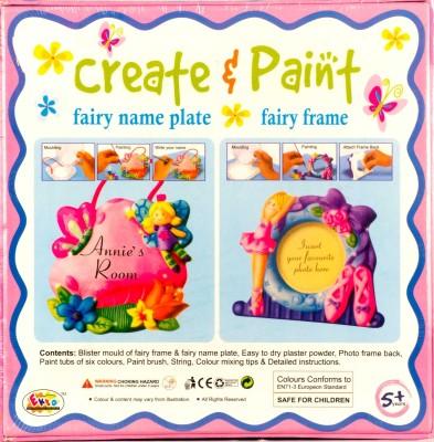 Promobid Create & Paint -Fairy Name Plate & Frame