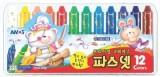 AMOS Amos Premium Non-toxic Silky Crayon...