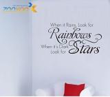 Amaonm ® When It Rains Look for Rainb...