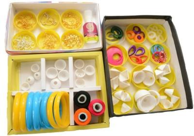 udhayam Silk Thread Jewellery Making Mega Kit Three