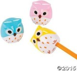 Fun Express Owl Pencil Sharpeners/School...