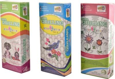 Mansa Ji Mansa Ji Paper Quilling Series 1,2,3 - Pack of 3