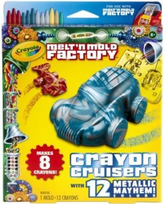 Crayola Melt ,N Mold Crayon Cruiser Expansion Pack