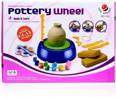 Planet of Toys DIY Educational Pottery Wheel Toy