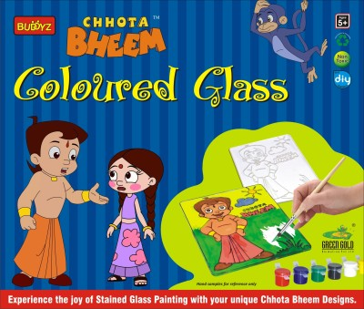 Buddyz Chotta Bheem Coloured Glass