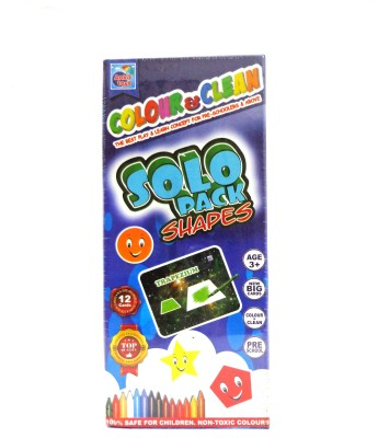 Ankit Toys Colour & Clean Solo Pack Shapes