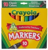 Crayola Classic Colors Markers Assorted ...