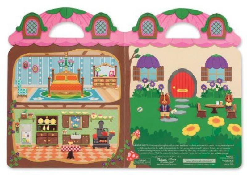 Melissa & Doug Melissa & Doug Puffy Sticker Playset - Chipmunk House