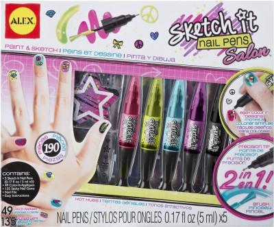Alex Toys Sketch it Nail Pens Salon