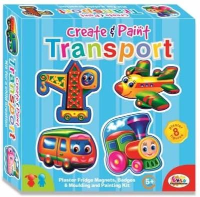 Ekta Toys Create & Paint (Transport) Fun Game