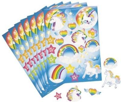 Fun Express Unicorn Rainbow Sticker Sheets (1 Dz) By Fun Express