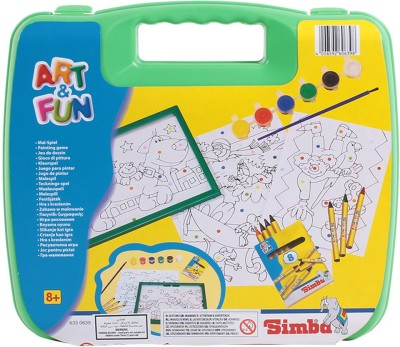 Simba Art And Fun Plastic Craft Carrying Case