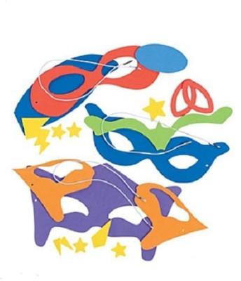 Oriental Trading Company Superhero Masks Craft Kits