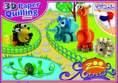 Petals Paper Quilling Animal (Zoo)