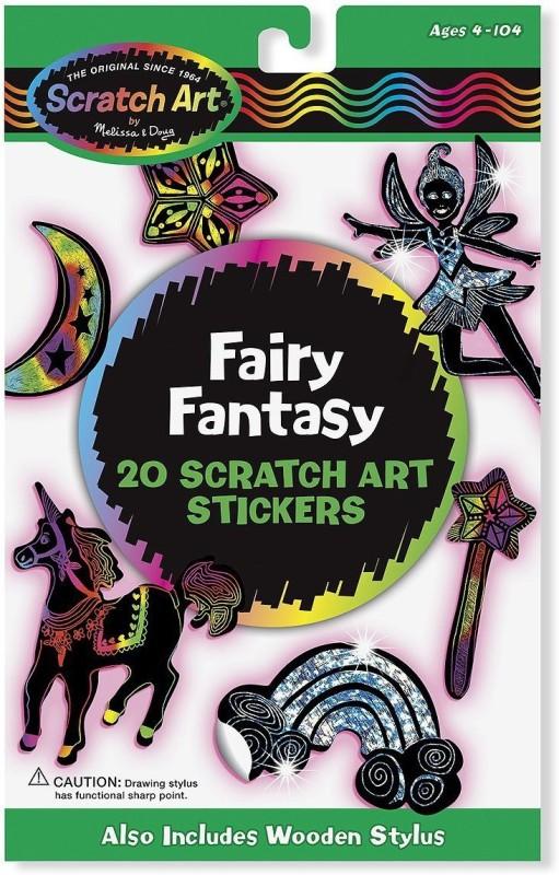 Melissa & Doug Scratch Art Stickers Pack