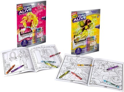 Crayola Alive Action Coloring Pages