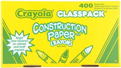 Crayola Class Pack Crayola Construction Paper Crayons