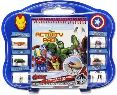 Marvel Avengers Finish The Sticker Scene Playset