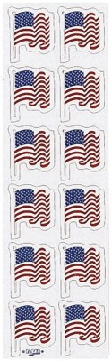 Creative Converting Flag Stickers