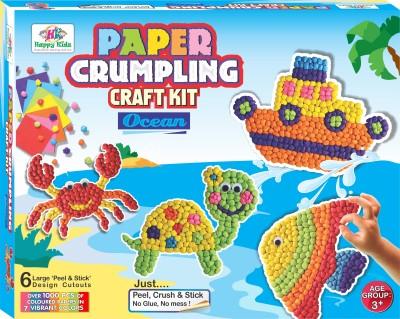 Happy Kidz Paper Crumpling Craft toys-Ocean