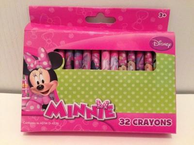 Disney Minnie Mouse 32 Crayon Set