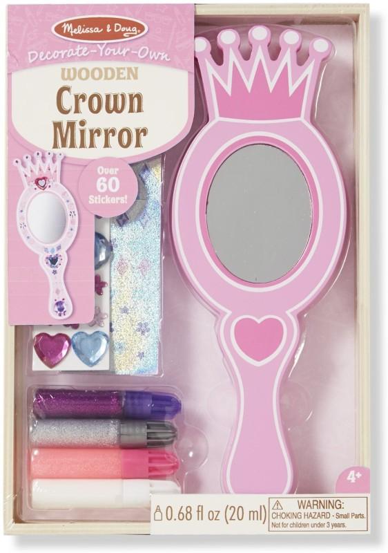 Melissa & Doug DYO Crown Mirror
