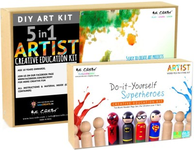 Be Cre8v Little Artist Creative DIY Combo Pack2