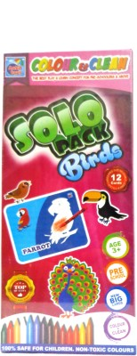 Ankit Toys Colour & Clean Solo Pack Birds