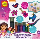 Alex Toys Dora and Friends Window Sticke...