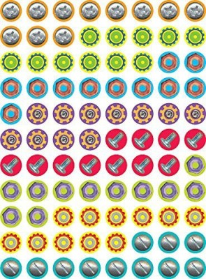 Creative Teaching Press Nuts and Bolts Hot Spots Stickers 4386