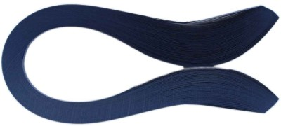 Tootpado 1000 Non-Metallic Quilling Paper Ribbons Strips (Navy Blue 5mm)