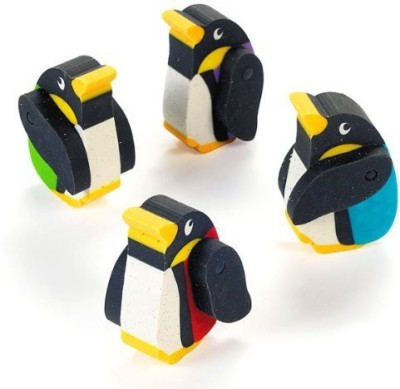 Fun Express Moveable Rubber Penguin Erasers By Fun Express