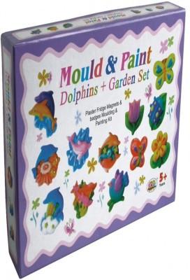 Ekta Toys Create & Paint (dolphin + Garden Set)