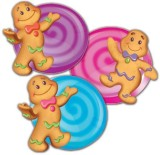 Eureka Candy Land Assorted Paper Cut-Out...