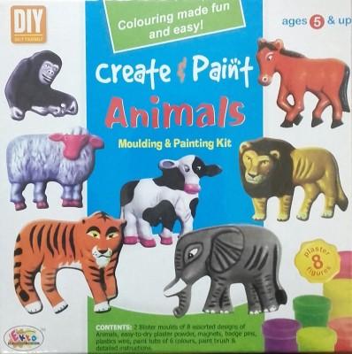 Ekta Toys Create & Paint Animal