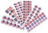 RINCO Patriotic Sticker Assortment almos...