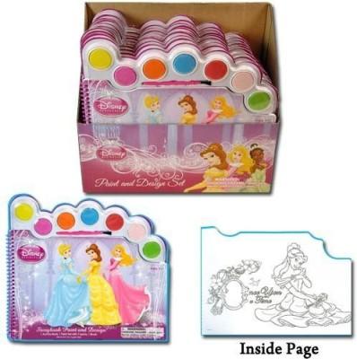 Disney Princess Water Paint Set