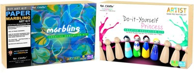 Be Cre8v Little Artist Creative DIY Combo Pack 3