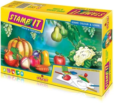 Zephyr Stamp It-Fruits and Vegetables