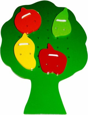 Kinder Creative Sewing Tree with Fruits