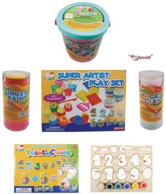 LAVIDI Super Artist Play Set for Kids