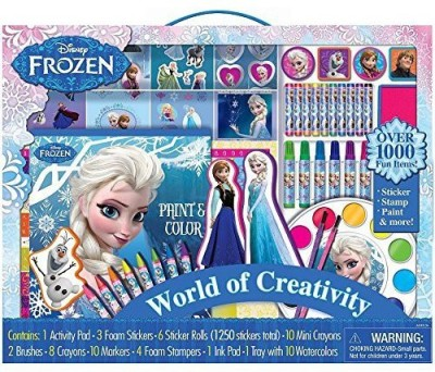 Disney Frozen Frozen World of Creativity Kit